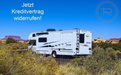 Widerrufsjoker bei Wohnmobilen/Reisemobilen(*)