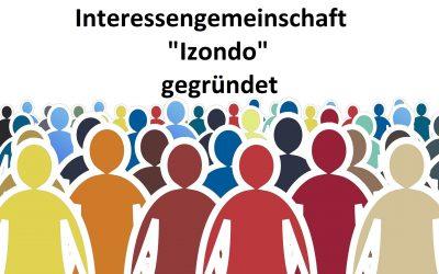 """Interessengemeinschaft """"Izondo"""" gegründet(*)"""